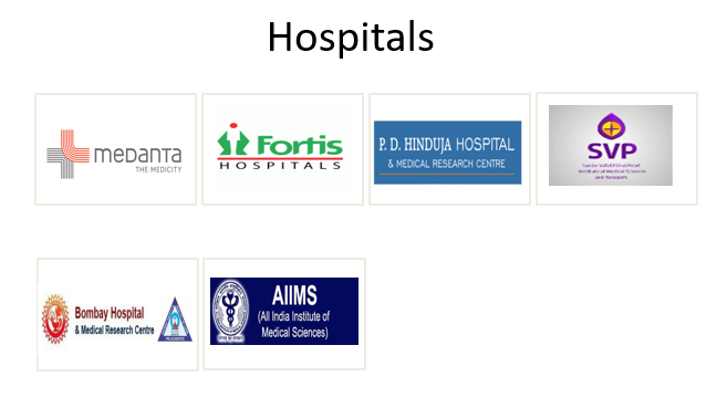 Supershine Hospitals clients